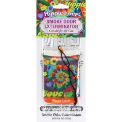 Candle for the Car Air Freshener-Hippie Love