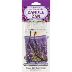 Candle for the Car Air Freshener-Lavender w/ Chamomile