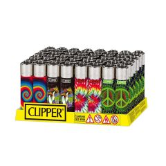 Clipper Large Psychedelic Lighter - Display/48 - Trip 1