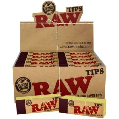 Raw Original Unbleached Tips - 50 ct pack